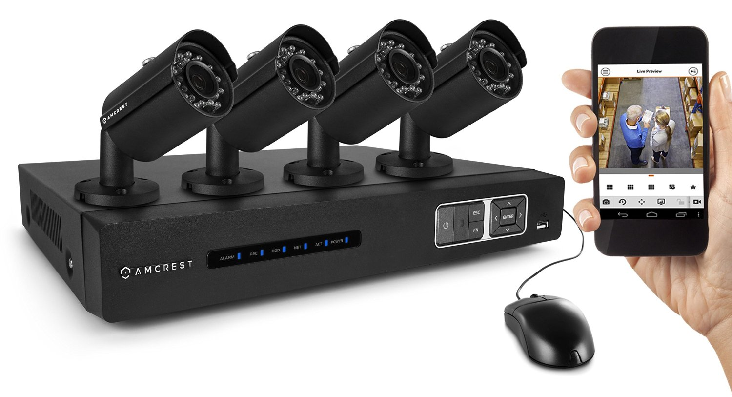 Amcrest CCTV closed circuit Video Surveillance