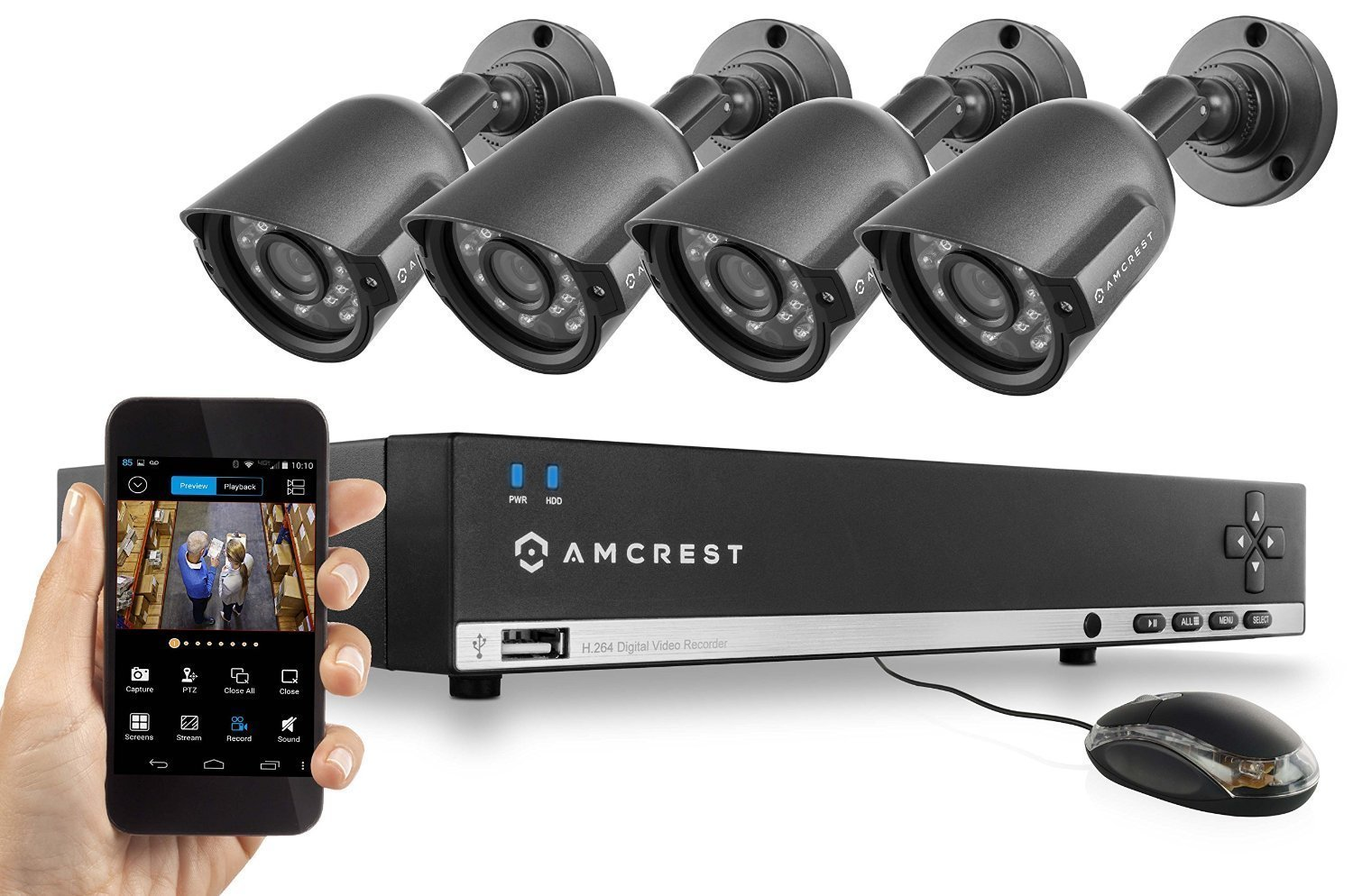 Amcrest Night Vision Video Security