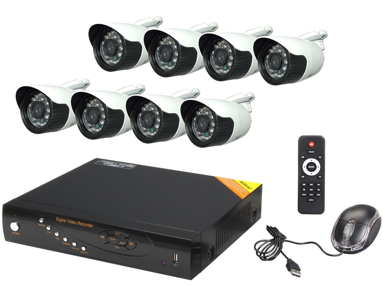Aposonic Security Camera DVR