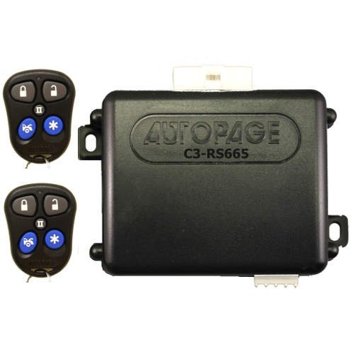 AutoPage Vehicle Keyless Entry Systems