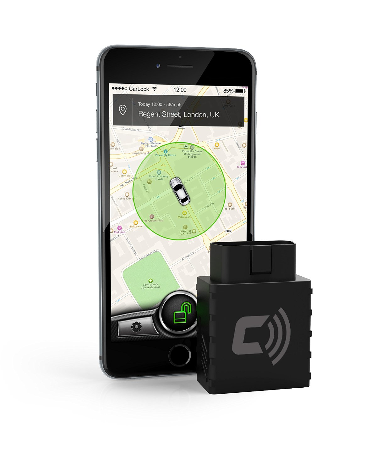 Carlock Vehicle Smartphone Car Alarms & Starters