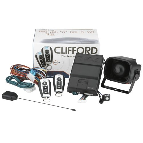 Clifford Vehicle Smartphone Car Alarms & Starters