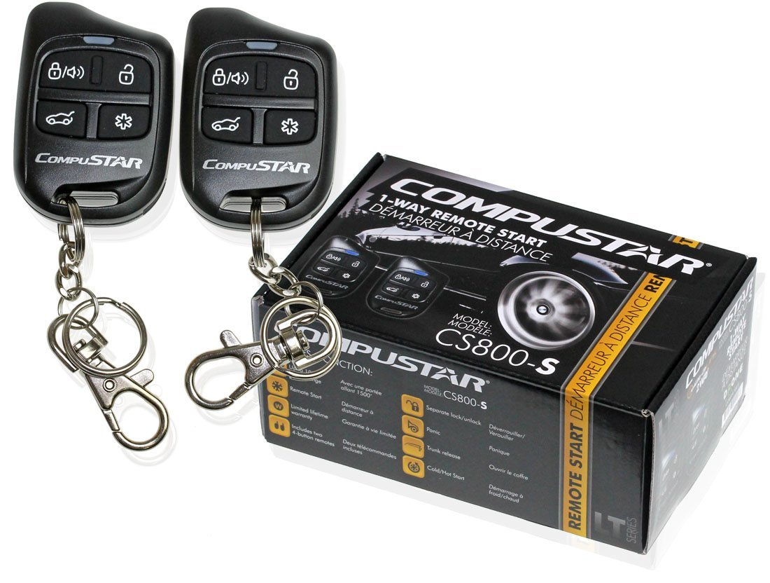 Compustar Vehicle Smartphone Car Alarms & Starters