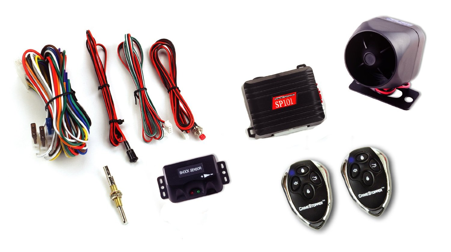 Crime Stopper Vehicle Security Alarms