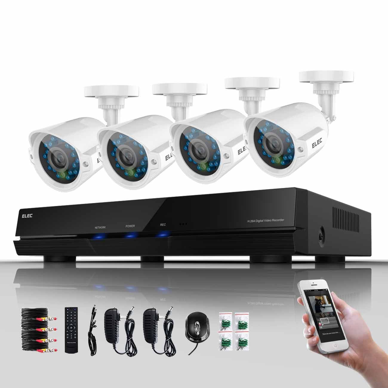ELEC Night Vision Video Security
