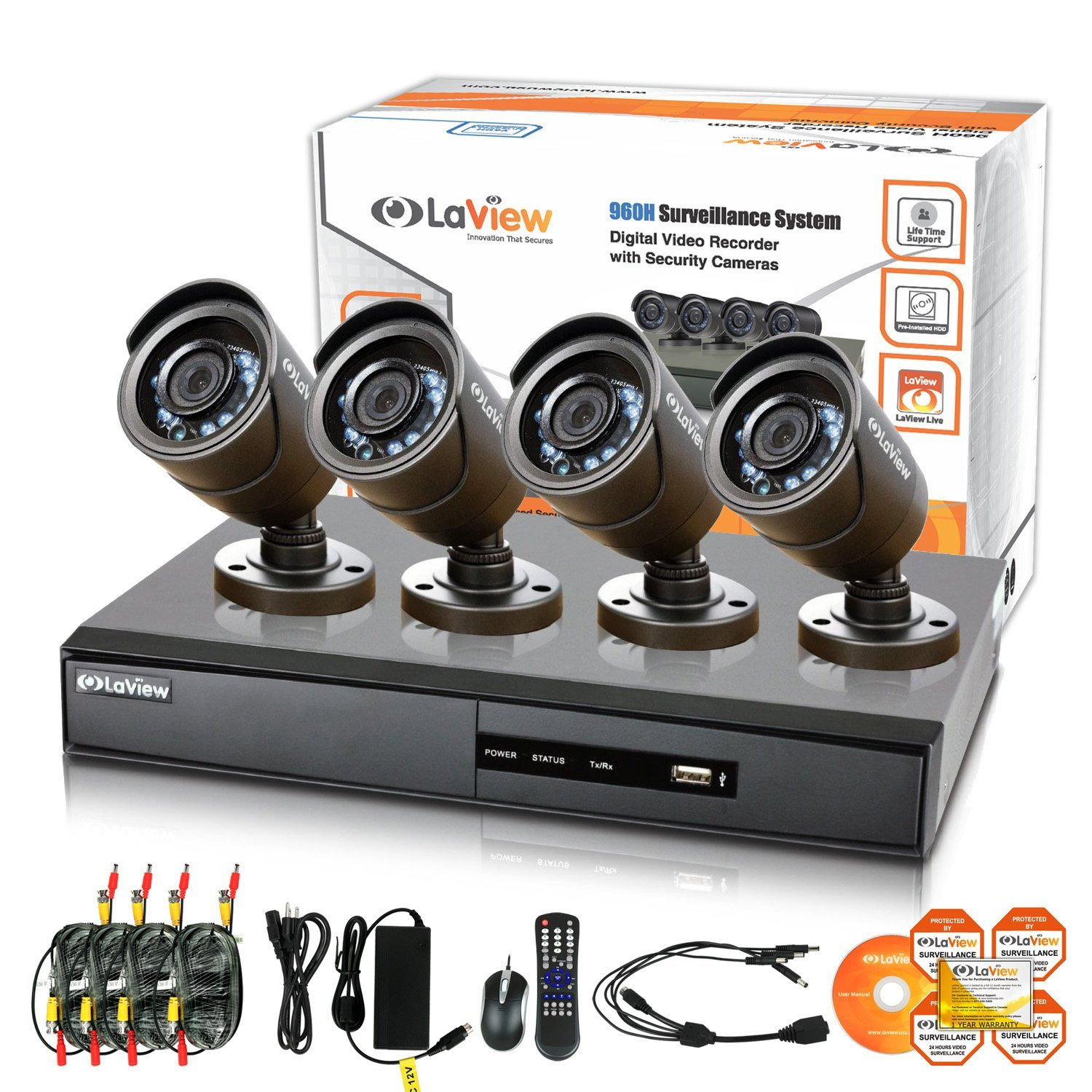 LaView Night Vision Video Security