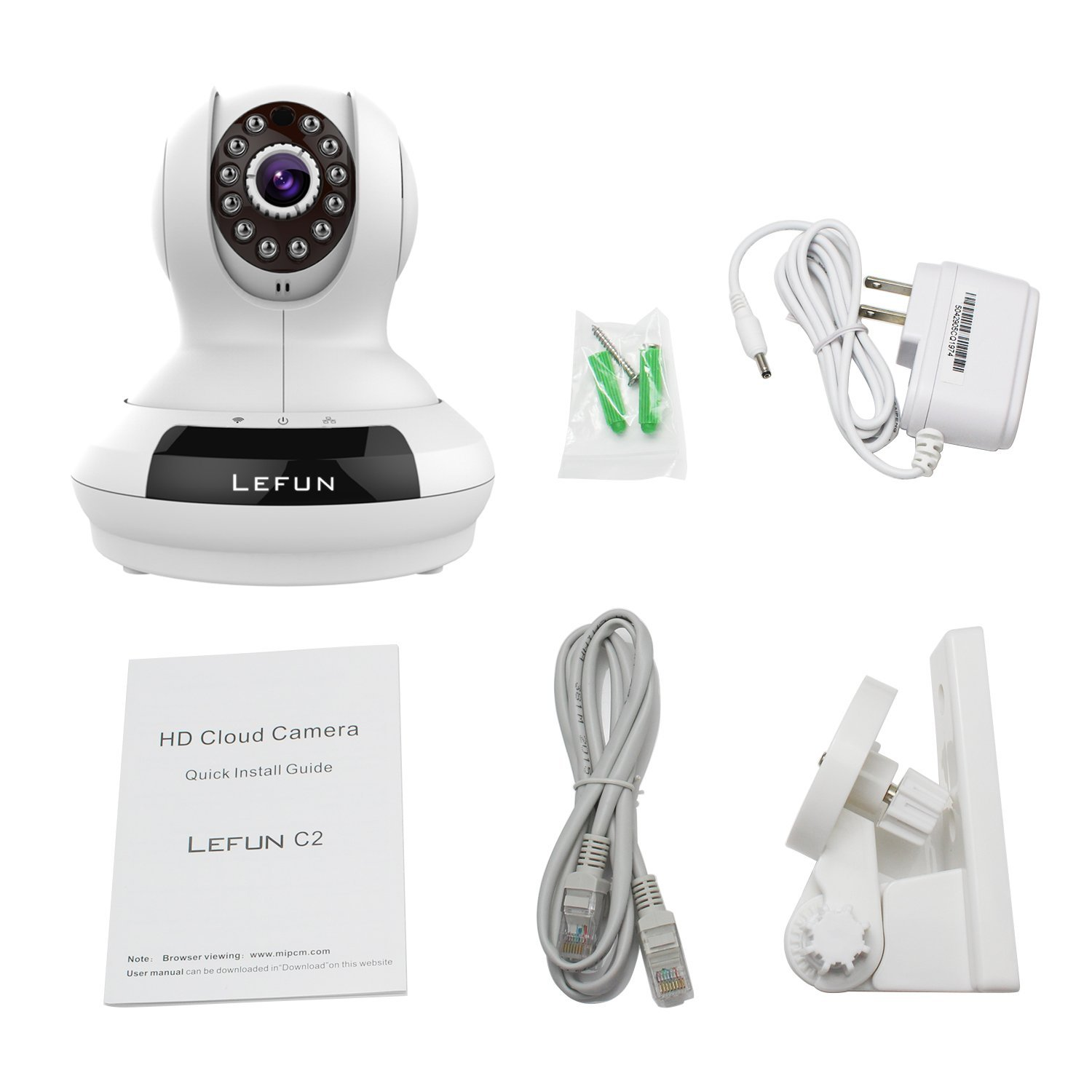 LeFun Night Vision Video Security
