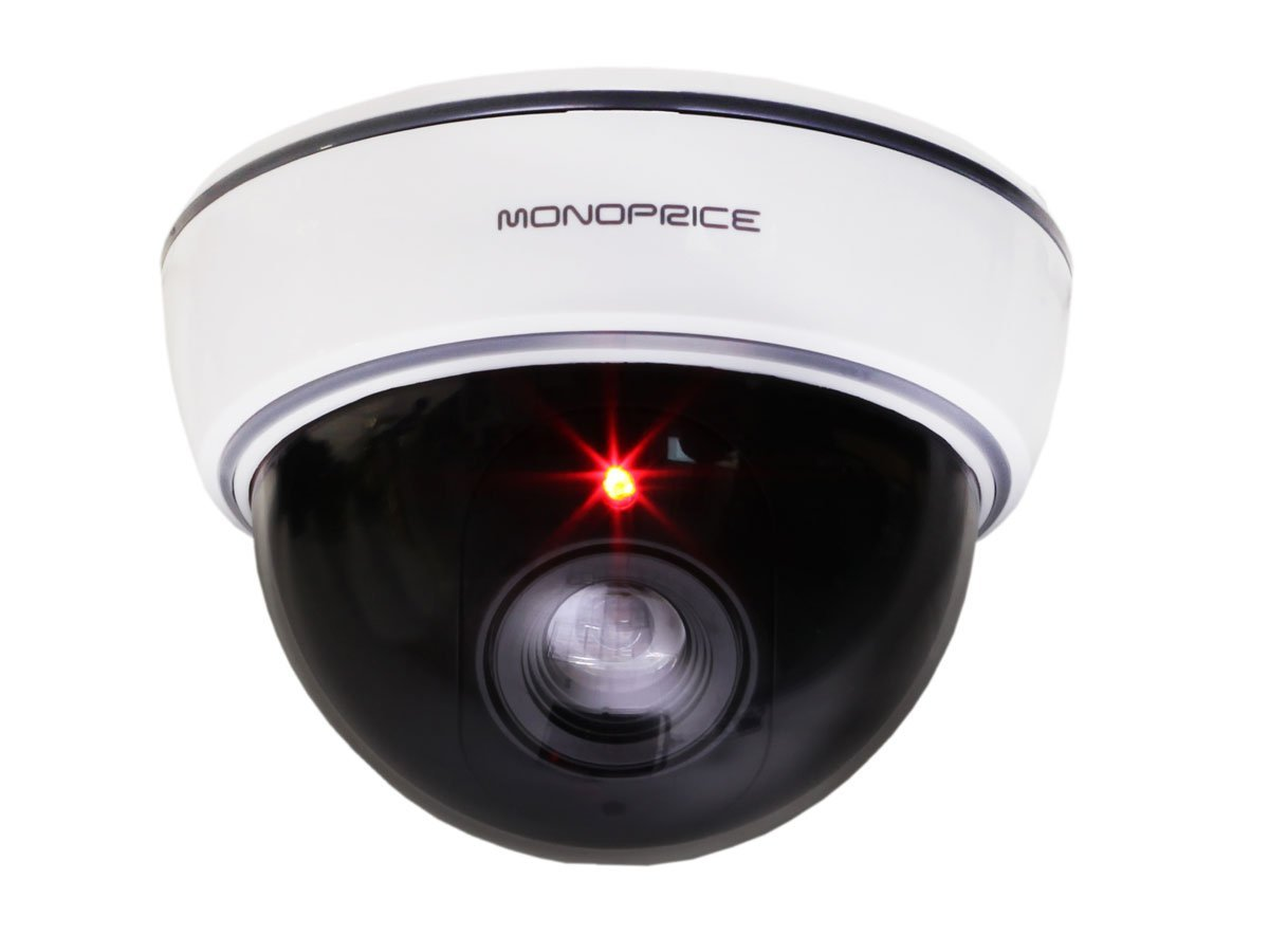 Monoprice Fake Dummy Security Cameras