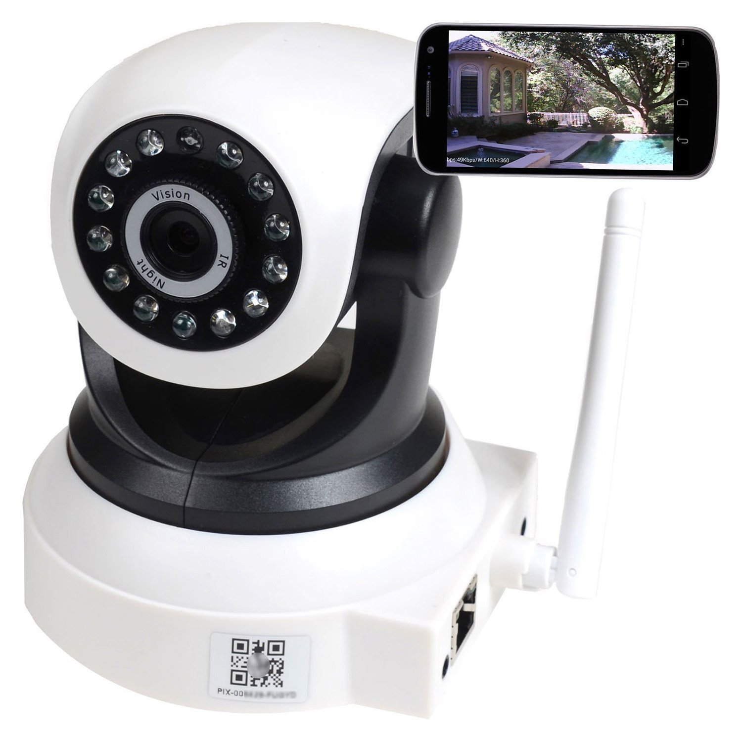 PowerLead Night Vision Video Security