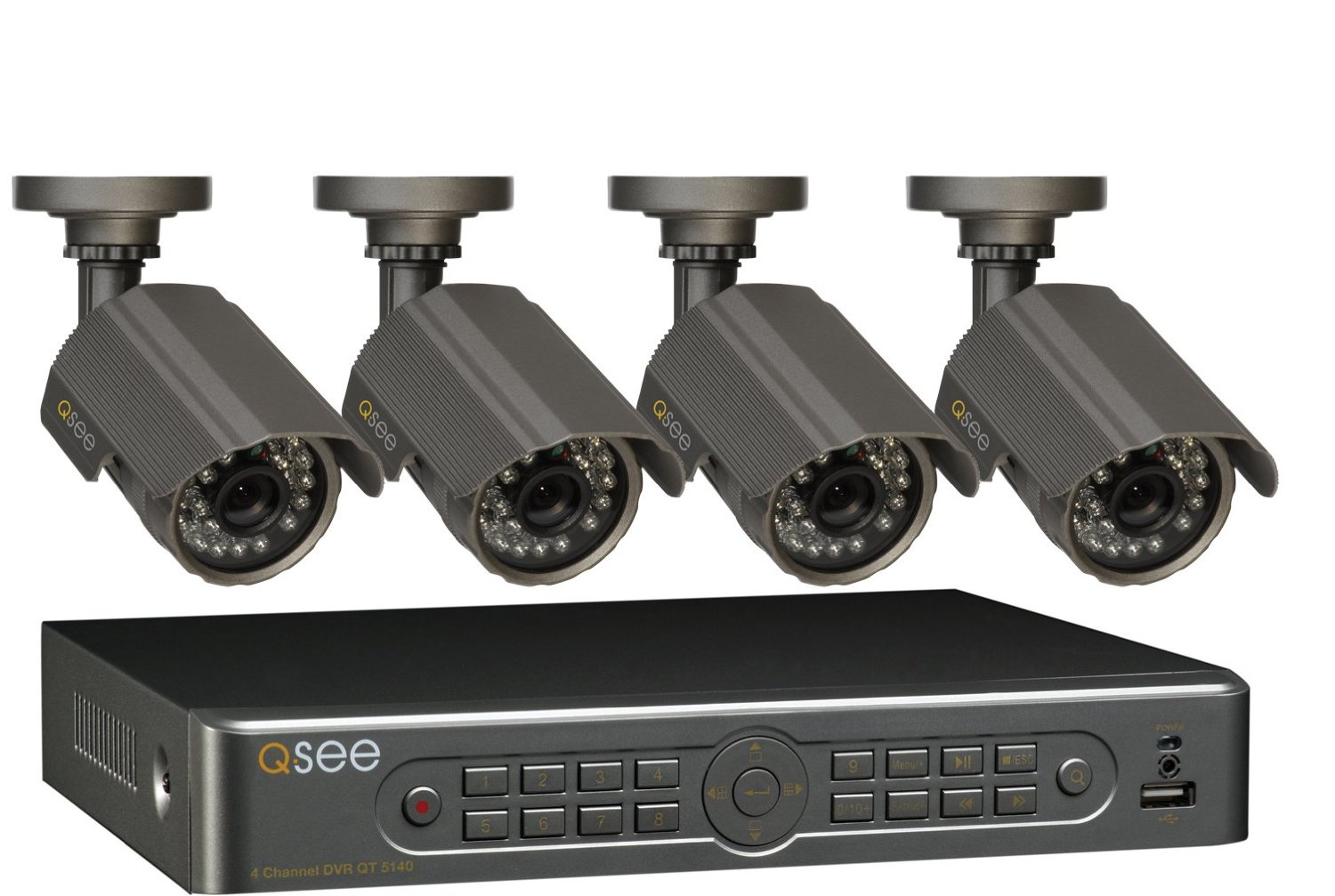 Q-See Night Vision Video Security
