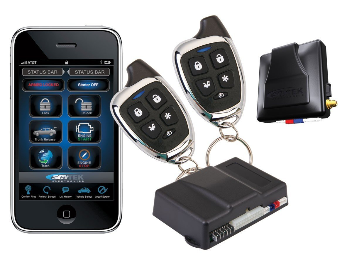 Scytek Vehicle Smartphone Car Alarms & Starters