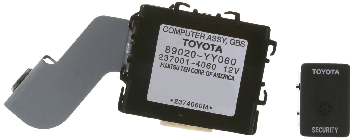 Toyota Vehicle Security Alarms