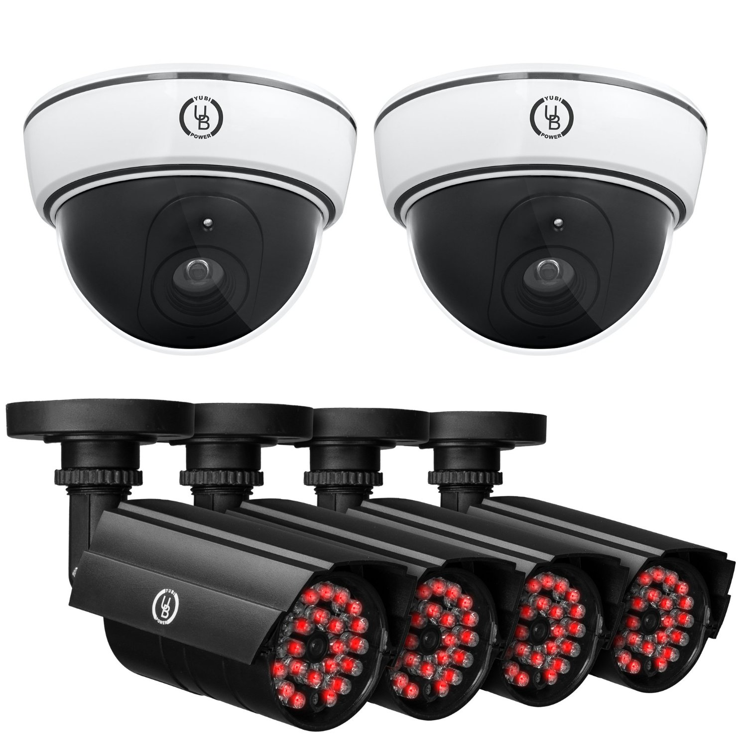 Yubi Power Fake Dummy Security Cameras