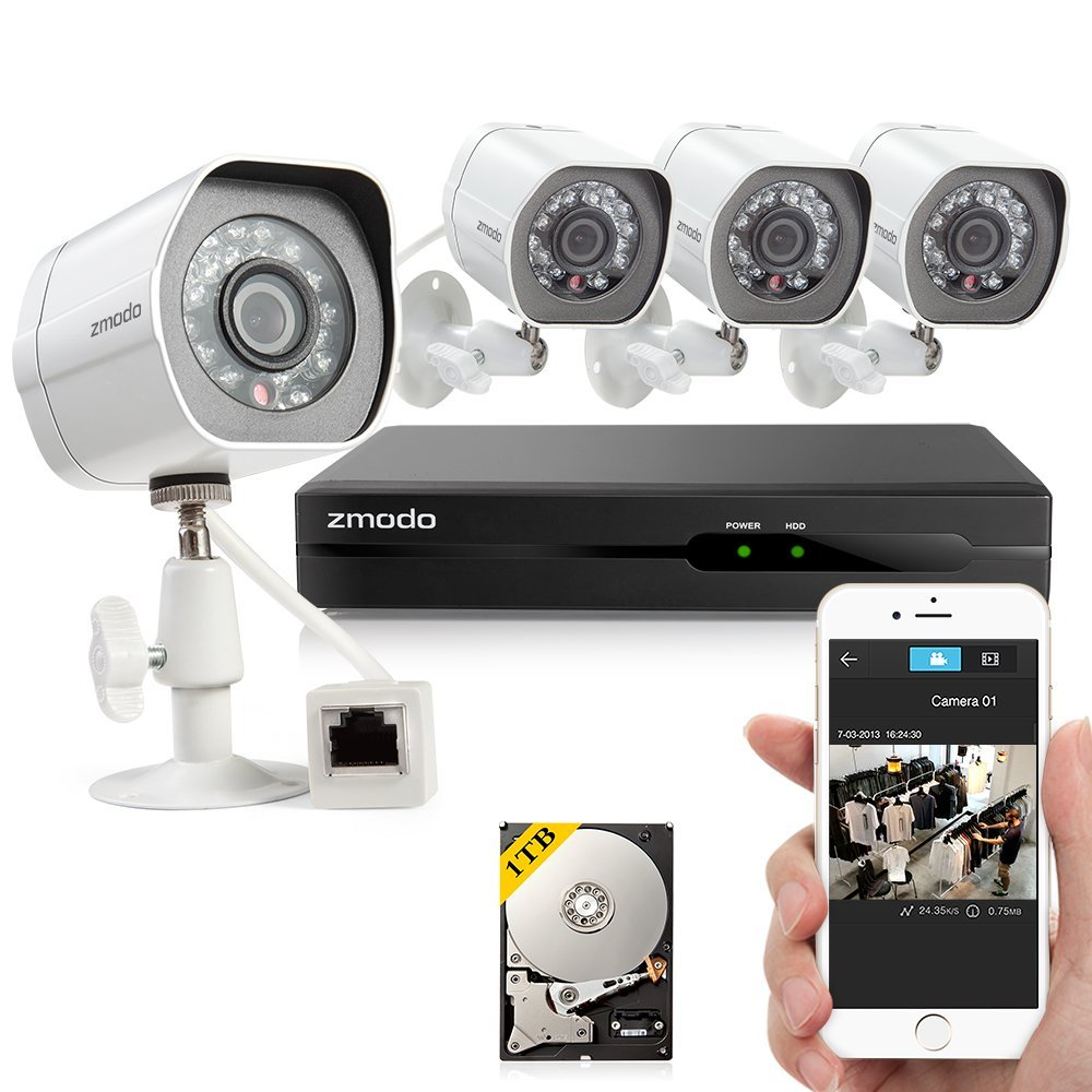 Zmodo HD Video Security
